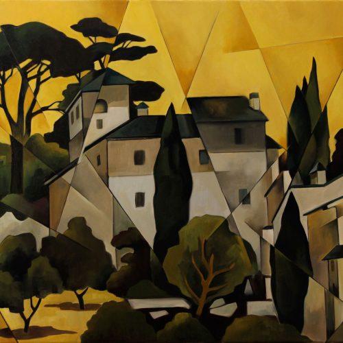 Tuscan Landscape Image