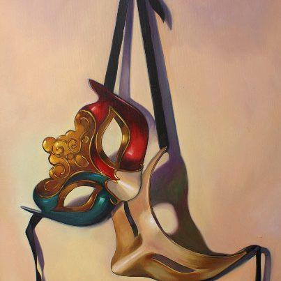 Hanging Masks Image
