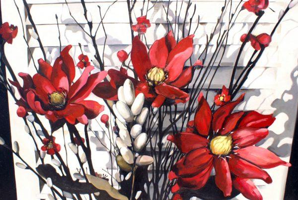 Oriental Flowers Image
