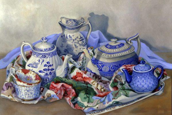 Tea Pots II Image
