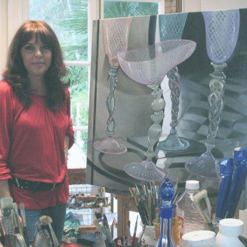 Willa in her studio copy